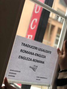 traduceri legalizate romana-engleza